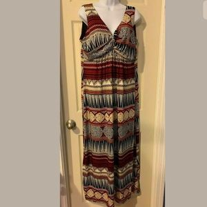 MAKE AN OFFER‼️Jaclyn Smith Maxi Dress Size XL